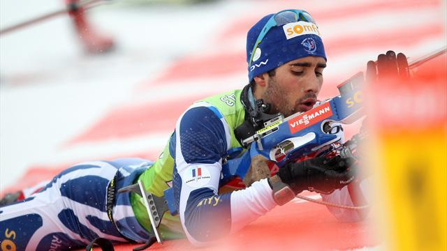 Biathlon - Fourcade claims Crystal Globes in Sochi