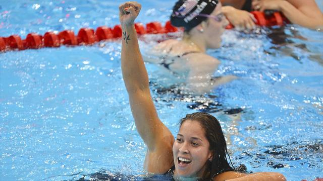 Olympic Games - Kromowidjojo sets 50m freestyle Olympic record for gold