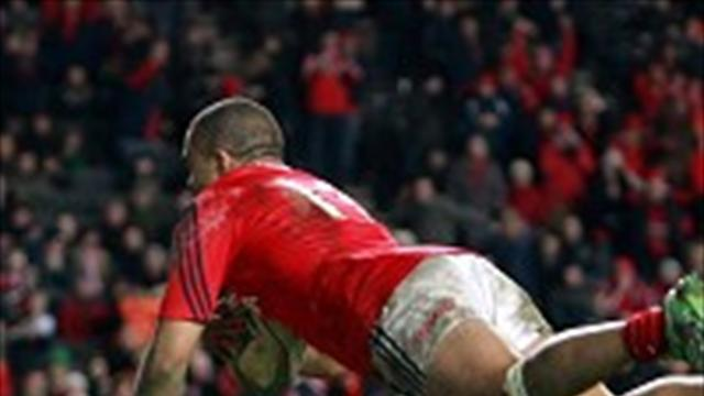 Rugby - Penney proud of Munster display