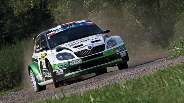 ERC - Kopecky takes Croatia Rally lead
