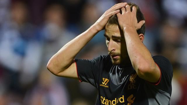Borini blow for Liverpool