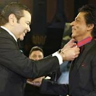 Shah Rukh Khan Presented With 'Medal Of Honour Of Morocco'