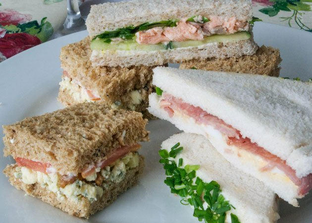 Treat your mum to this homemade sandwich selection this Mother's Day © Jo Romero