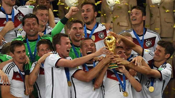 World Cup - Super Mario wins the World Cup for Germany