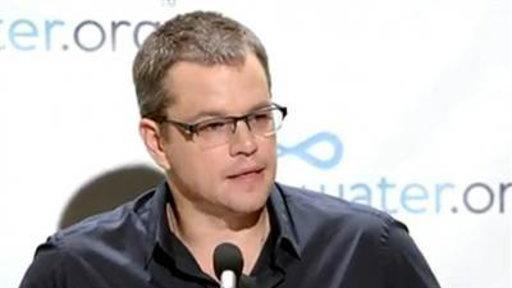 Matt Damon's Potty Strike for Water.org
