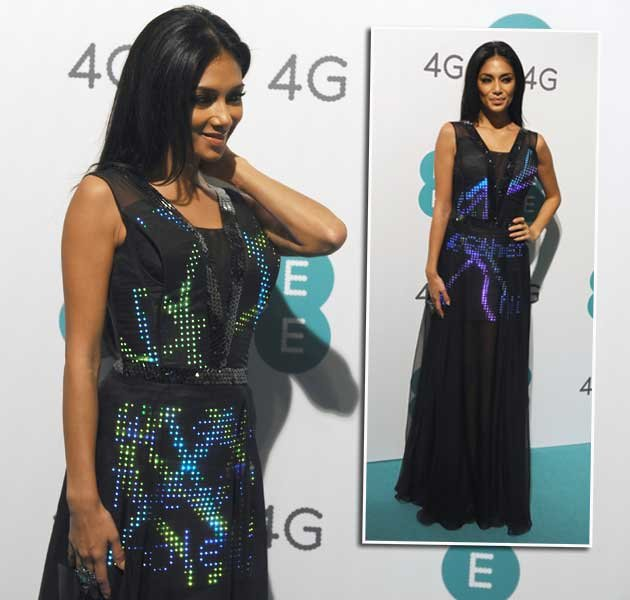 Nicole Scherzinger im Twitter-Dress: Fashion 2.0! (Bilder: Getty Images)