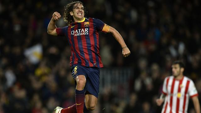 Liga - Puyol bids emotional farewell to Barcelona