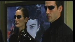 The Matrix Reloaded Scene: Freeway Chase
