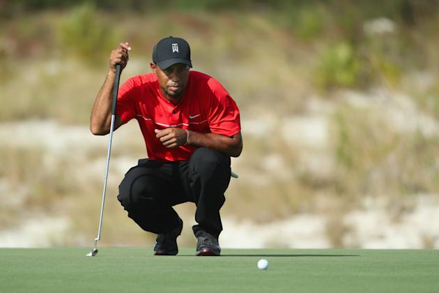 Golf - Tiger praised for raising the stakes