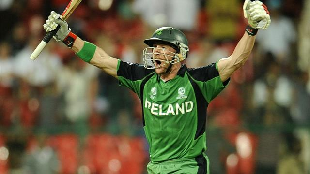 Cricket - Ireland star forced to apologise for Thatcher tweet