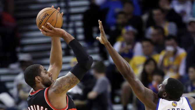 Blazers beat Warriors 90-74 in preseason finale
