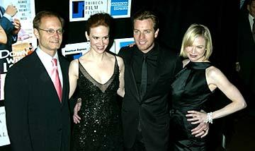 David Hyde Pierce, Sarah Paulson, Ewan McGregor and Renee Zellweger Down With Love Premiere Tribeca Film Festival, 5/6/2003