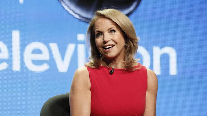 """Katie Couric attends the Disney ABC panel for her talk show """"Katie"""" at the Beverly Hilton Hotel on Thursday, July 26, 2012, in Beverly Hills, Calif. (Photo by Todd Williamson/Invision/AP)"""