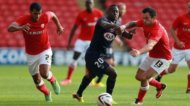 Championship - Brave Barnsley lose to Bordeaux