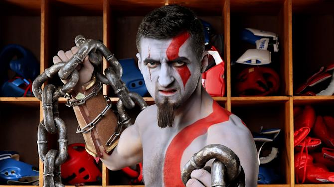 Carl Froch God of War event