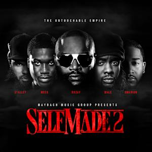 "This CD cover image released by Warner Bros., shows the latest release by Maybach Music Group, ""Self Made Vo. 2""  (AP Photo/Maybach Music Group/Warner Bros.)"