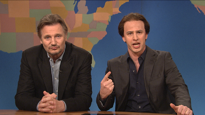 Weekend Update: Get in the Cage With Liam Neeson