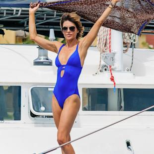 Lisa Rinna in vacanza in Messico