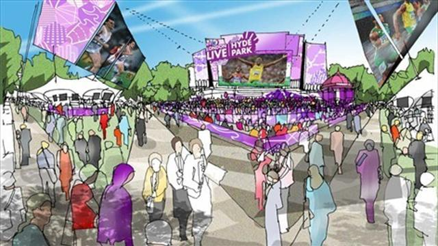 Hyde Park Live Site - The Games Venue Guide
