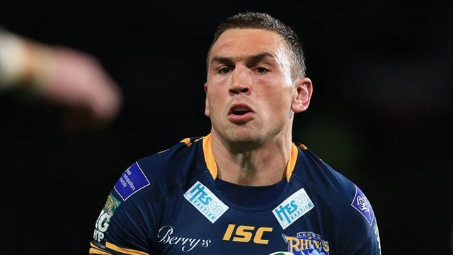 Rugby League - Leeds claim narrow victory