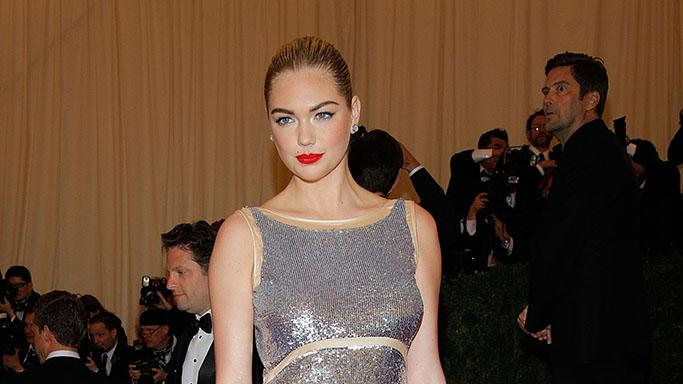 """Schiaparelli And Prada: Impossible Conversations"" Costume Institute Gala: Kate Upton"