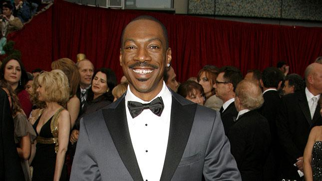 "Eddie Murphy, nominee Best Actor in a Supporting Role for ""Dreamgirls"" at The 79th Annual Academy Awards."