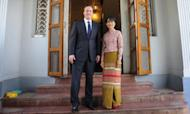 PM: It Is Right To Suspend Burma Sanctions