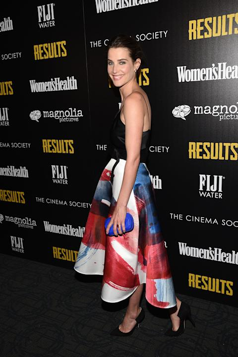 "The Cinema Society With Women's Health & FIJI Water Host A Screening Of ""Results"""