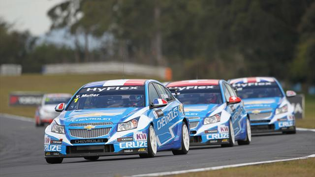 US round excites WTCC leader Muller
