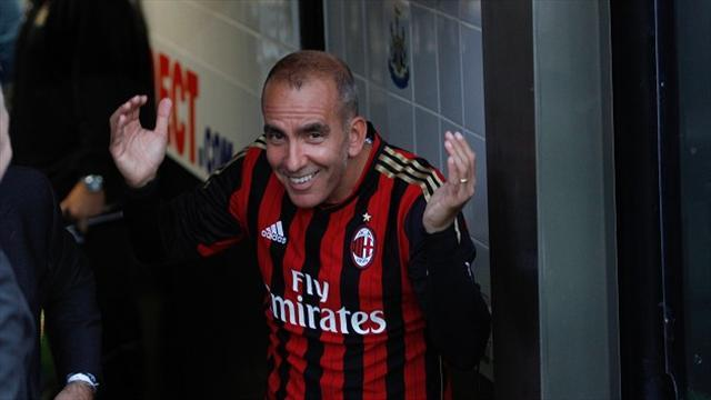 Football - Di Canio nets in Harper testimonial
