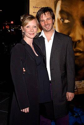 Premiere: Anne Heche with Coley at the LA premiere for New Line's John Q - 1/7/2002