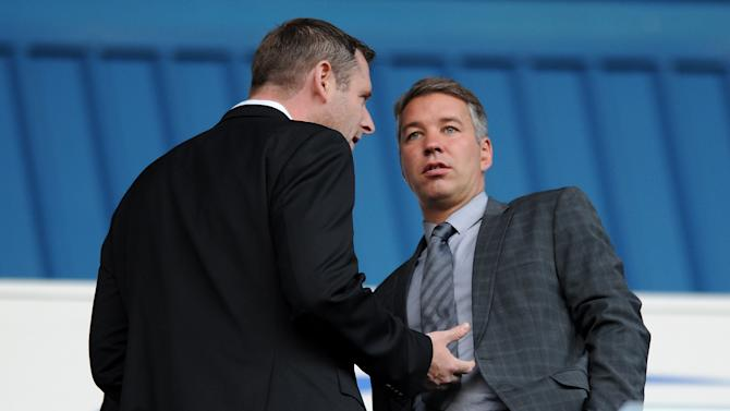 Darragh MacAnthony, left, has backed Darren Ferguson, right, after four players were punished for a breach of club discipline