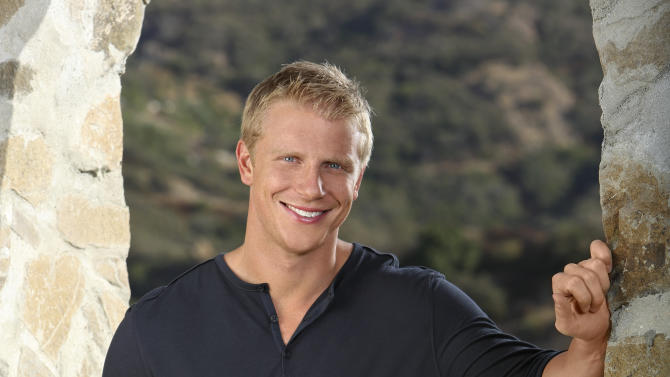 "This undated publicity image provided by ABC shows Sean Lowe, the 28-year-old star of the next edition of ABC's popular romance reality series, ""The Bachelor,"" returning for its 17th season in January 2013. The 6-foot-3 Texan, who was a linebacker for Kansas State, worked in finance and insurance before starting a custom furniture business. (AP Photo, ABC, Kevin Foley)"