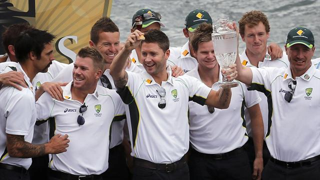 Cricket - Australia celebrate Ashes triumph at Sydney Opera House