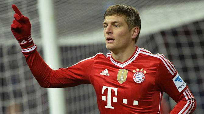 Bundesliga - Kroos: I won't join Manchester United