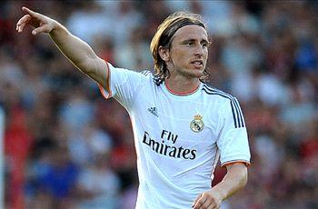 Modric: It's great to hear the Madrid fans chant my name