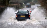 Weather: Savage Wind And Rain Pummels UK