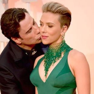 Scarlett Johansson Does Not Think John Travolta Is 'Strange, Creepy or Inappropriate' for Oscars Kiss
