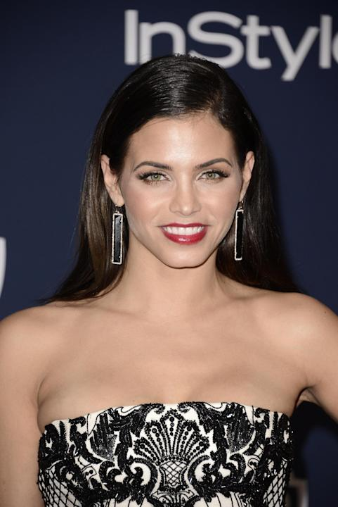Jenna Dewan seen at the 71st Annual Golden Globe Awards – InStyle and Warner Bros. Viewing and After Party, on Sunday, Jan. 12, 2014 in Los Angeles. (Photo by Dan Steinberg/Invision for Warner B