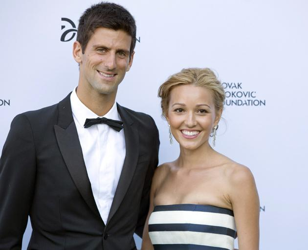 Djokovic announces fiancee is pregnant