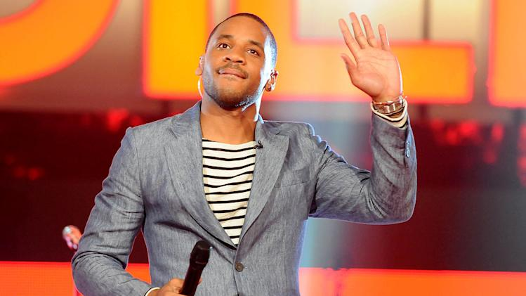 "Presenter Reggie Yates as seen on ""This Is Justin Bieber."""