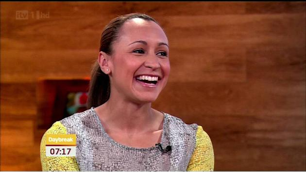 Jessica Ennis appears on ' Day Break ' talking about the Olympics. Shown on ITV1 HDEngland - 31.05.12Supplied by WENN.comWENN does not claim any ownership including but not limited to Copyrigh