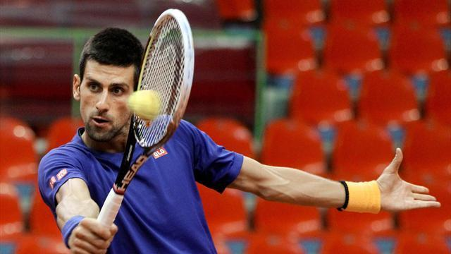 Davis Cup - Djokovic lambasts state of court ahead of tie
