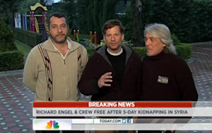 There Was Another Member of Richard Engel's Kidnapped Crew, and He's Safe