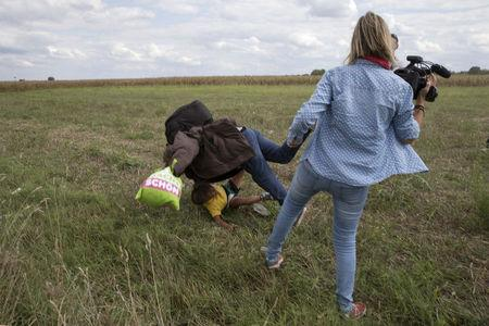 The Wider Image: Refugee tripped in Hungary rebuilds life in Spain