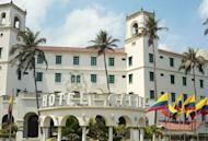 """A general view of the Hotel Caribe in Cartagena, Colombia, where the US Secret Service scandal occurred. More agents will be forced out of the Secret Service as early as Thursday, a US lawmaker said, as the White House warned foes not to """"politicize"""" the prostitution scandal blighting the agency"""