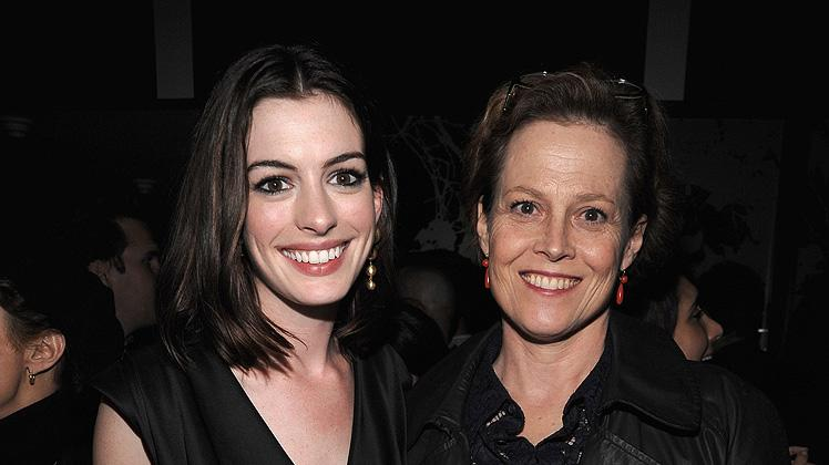 Rachel Getting Married NY Premiere 2008 Anne Hathaway Sigourney Weaver