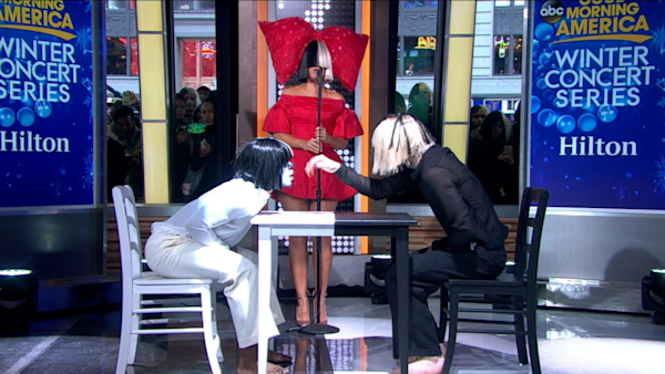 Good Morning America Live Tickets : Sia performs reaper live on gma watch the video