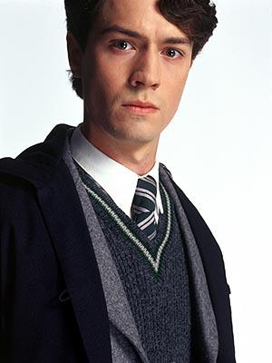 Christian Coulson as Tom Marvolo Riddle in Harry Potter and The Chamber of Secrets