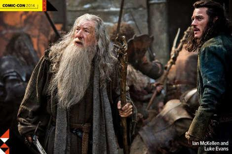 Here's a sneak peak of a picture from The Hobbit: Battle of Five Armies